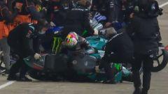 Il curioso infortunio di Morbidelli a Le Mans