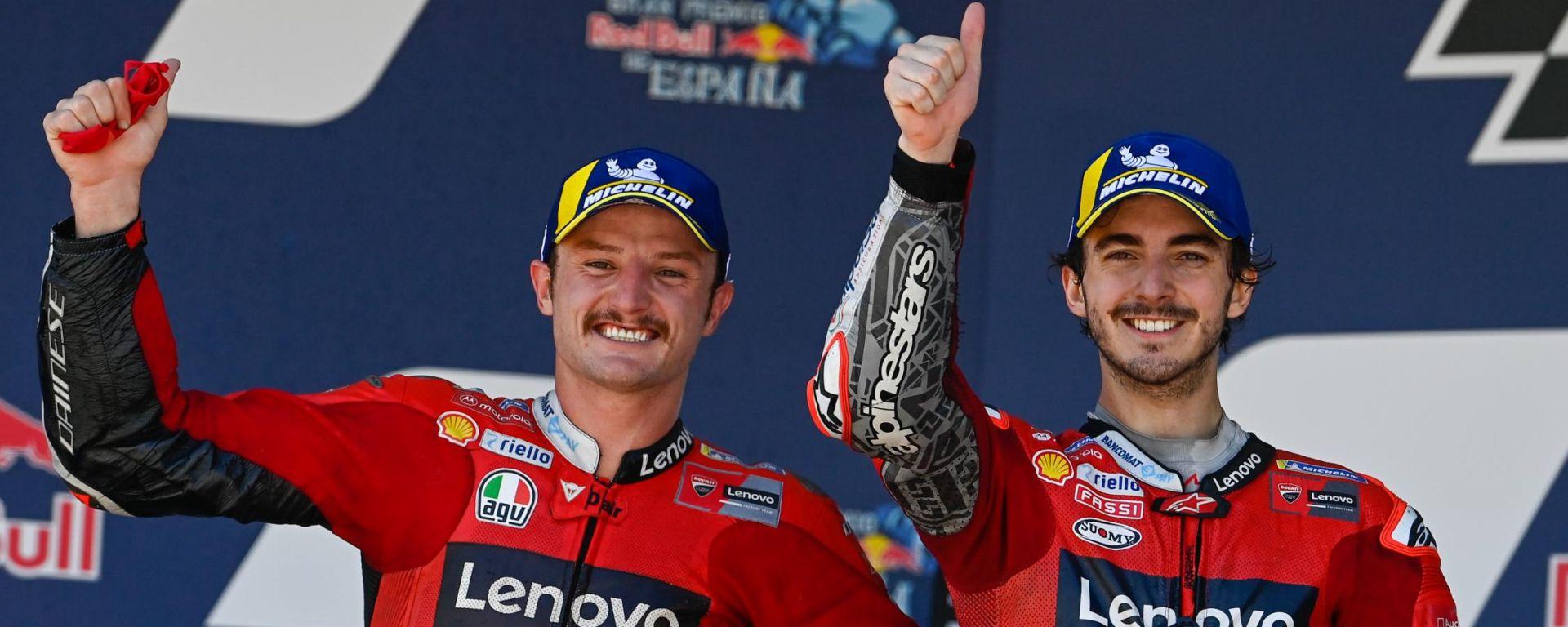 MotoGP 2021: Jack Miller e Francesco Bagnaia (Ducati)
