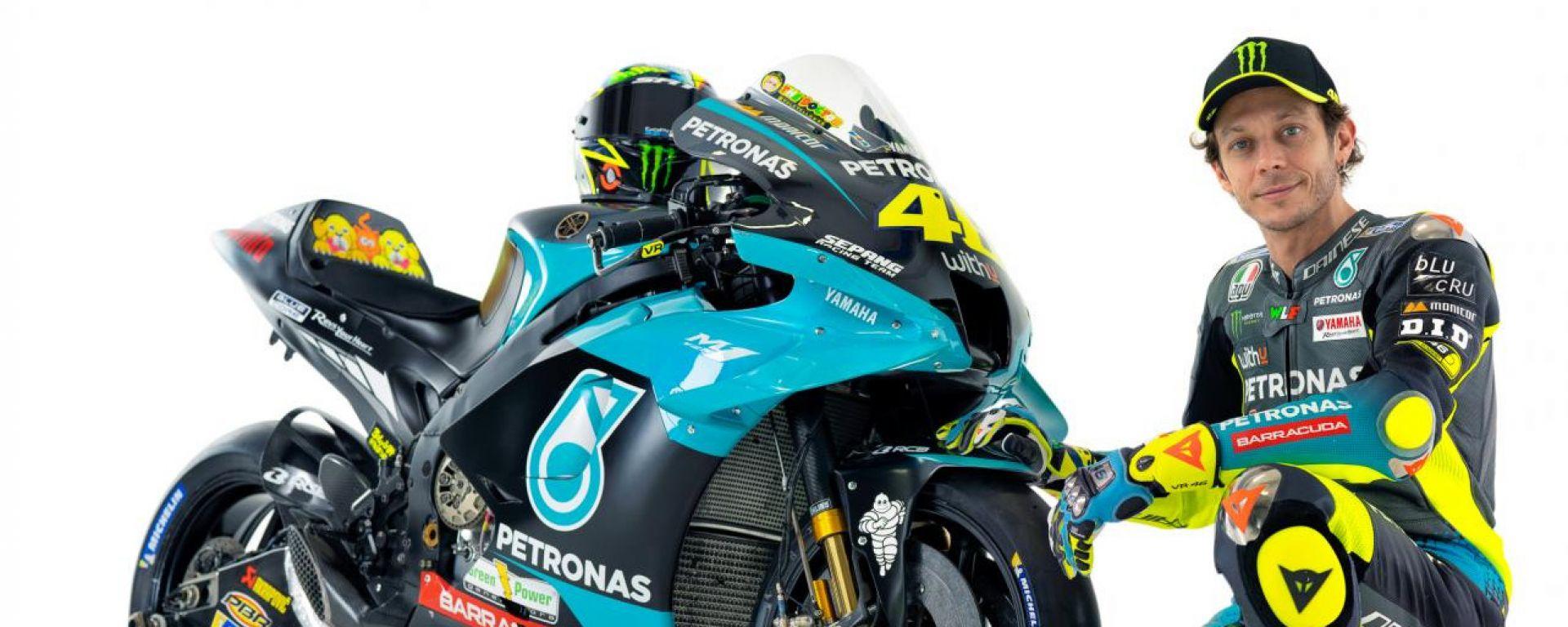 MotoGP 2021, Yamaha Petronas SRT, Yamaha YZR-M1: Valentino Rossi