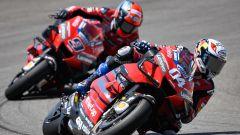 MotoGP Andalusia 2020, Jerez: Andrea Dovizioso e Danilo Petrucci (Ducati)