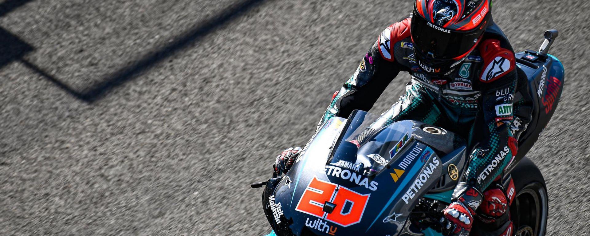 MotoGP Andalusia 2020, Jerez - Fabio Quartararo (Yamaha)