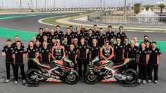 MotoGP, Aprilia RS-GP 2019, tutto il team