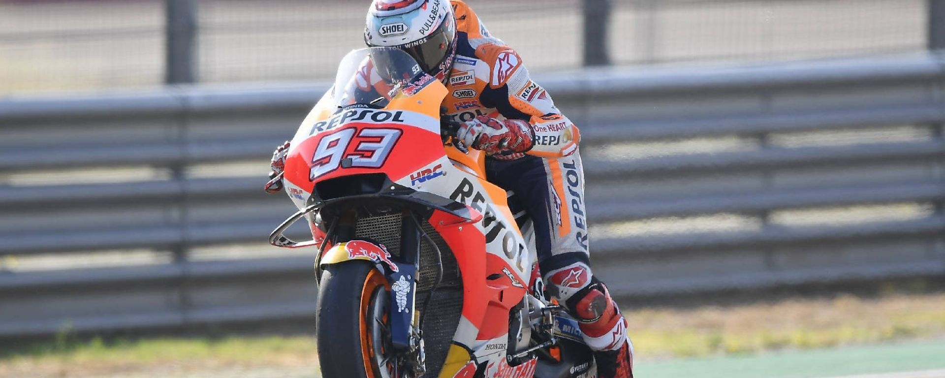 Motogp Aragon 2018: vince Marquez davanti a Dovizioso