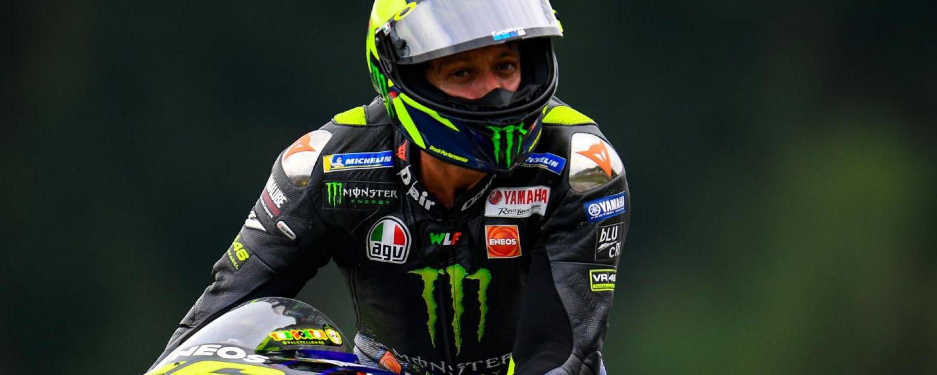 """MotoGP Aragon, Rossi ottavo: """"Peggio delle attese"""""""