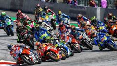MotoGP Aragona 2018, partenza
