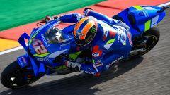 MotoGP Aragon, FP3: Rins davanti con pista umida