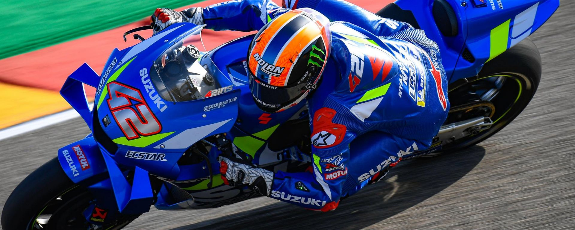 MotoGP Aragona 2019, Alcaniz: Alex Rins (Suzuki)