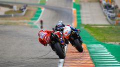 MotoGP Aragona 2019, Alcaniz, Andrea Dovizioso (Ducati) insegue Miller e Vinales