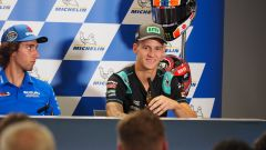 MotoGP Aragona 2019, Alcaniz, conferenza stampa: Alex Rins (Suzuki) e Fabio Quartararo (Yamaha)