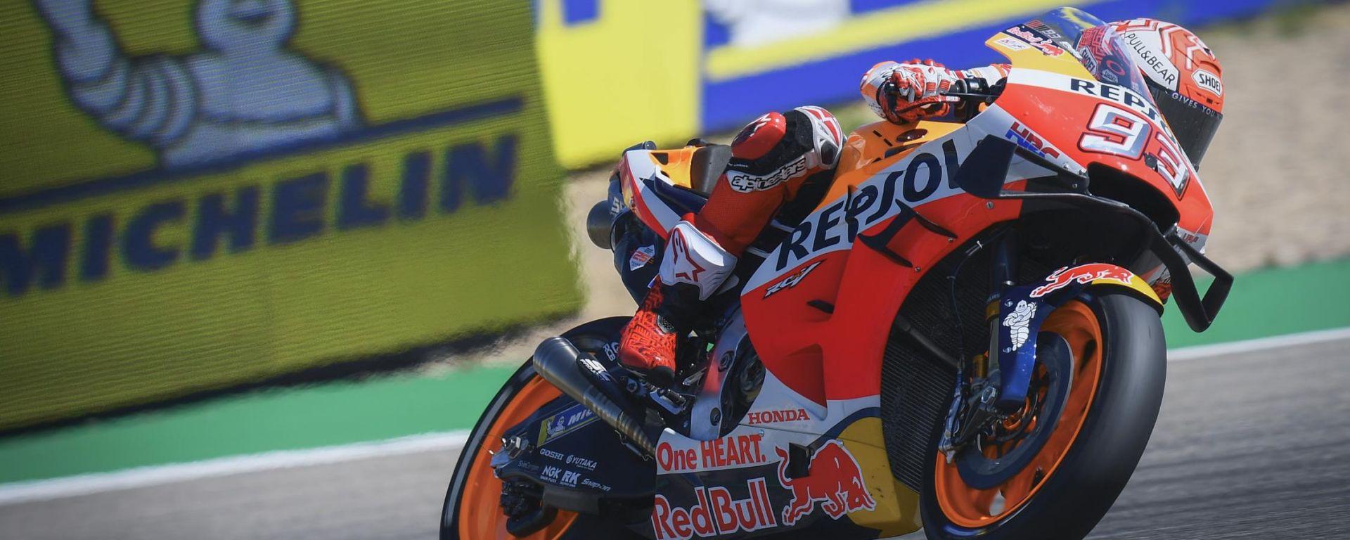 MotoGP Aragona 2019, Alcaniz, Marc Marquez (Honda)