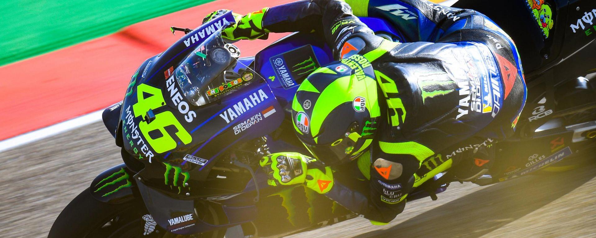 MotoGP Aragona 2019, Alcaniz: Valentino Rossi (Yamaha)