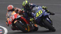 MotoGP Argentina 2018, Rossi contro Marquez