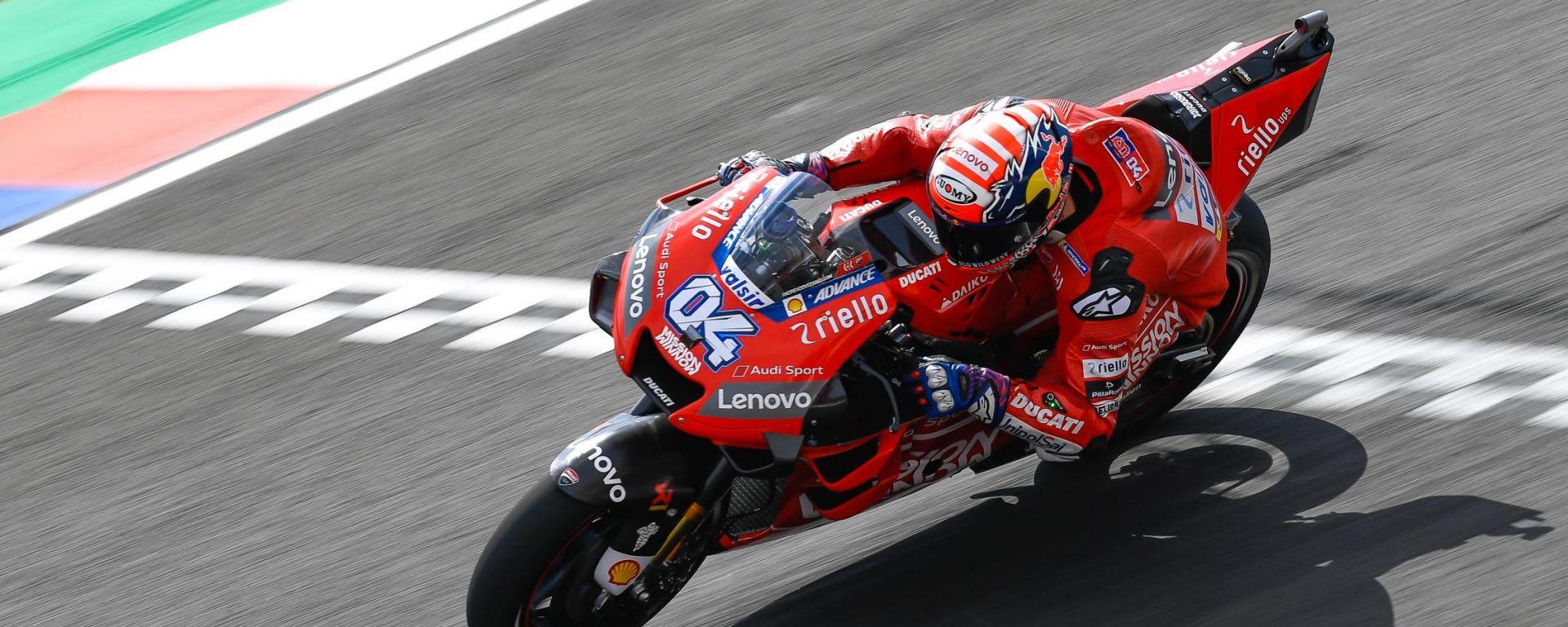 MotoGP Argentina 2019, prove libere: Andrea Dovizioso (Ducati)