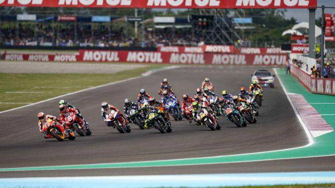 MotoGP Argentina 2019, Termas del Rio Hondo, partenza