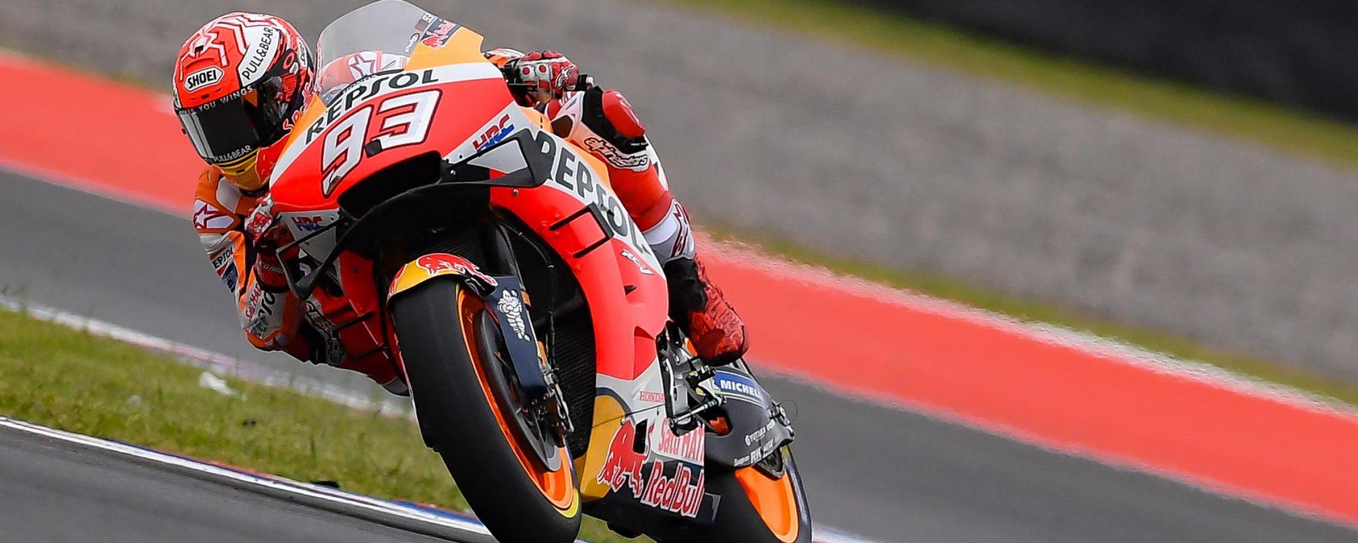 MotoGP Argentina: Marquez stellare. Rossi batte Dovizioso