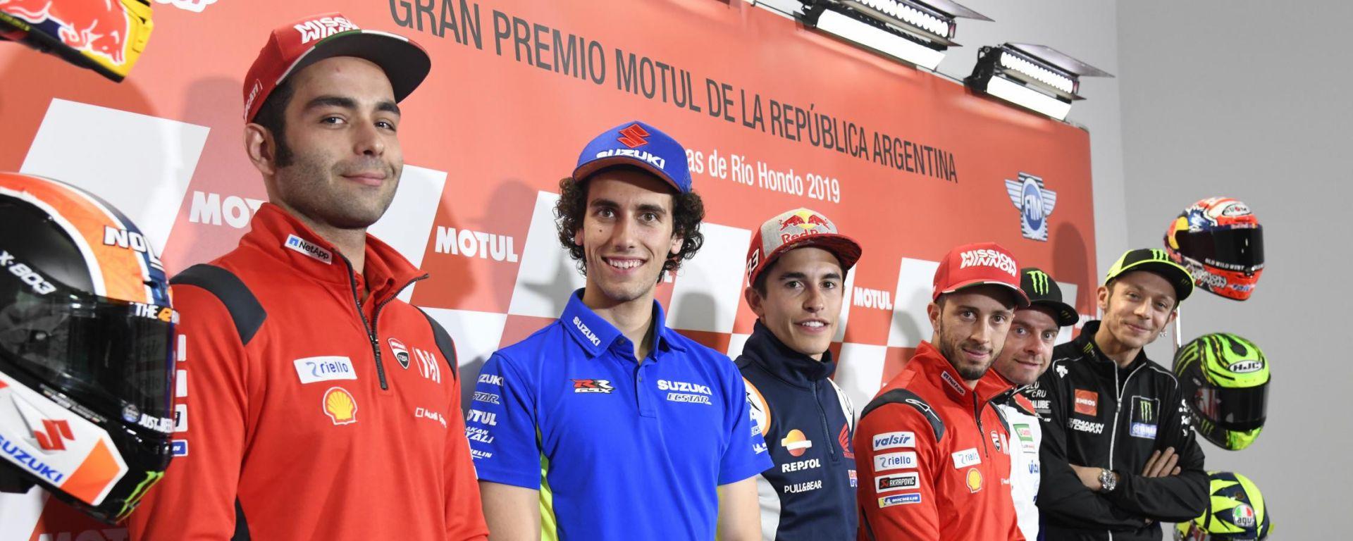 MotoGP Argentina: sarà lotta senza quartiere tra quattro team
