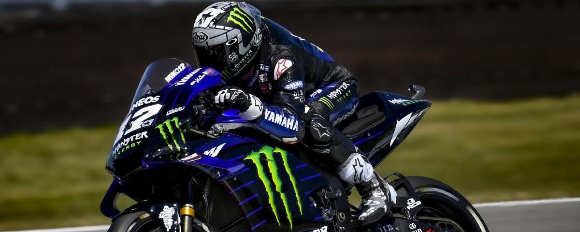 MotoGP Assen 2019, Vinales torna alla vittoria. Rossi ritirato