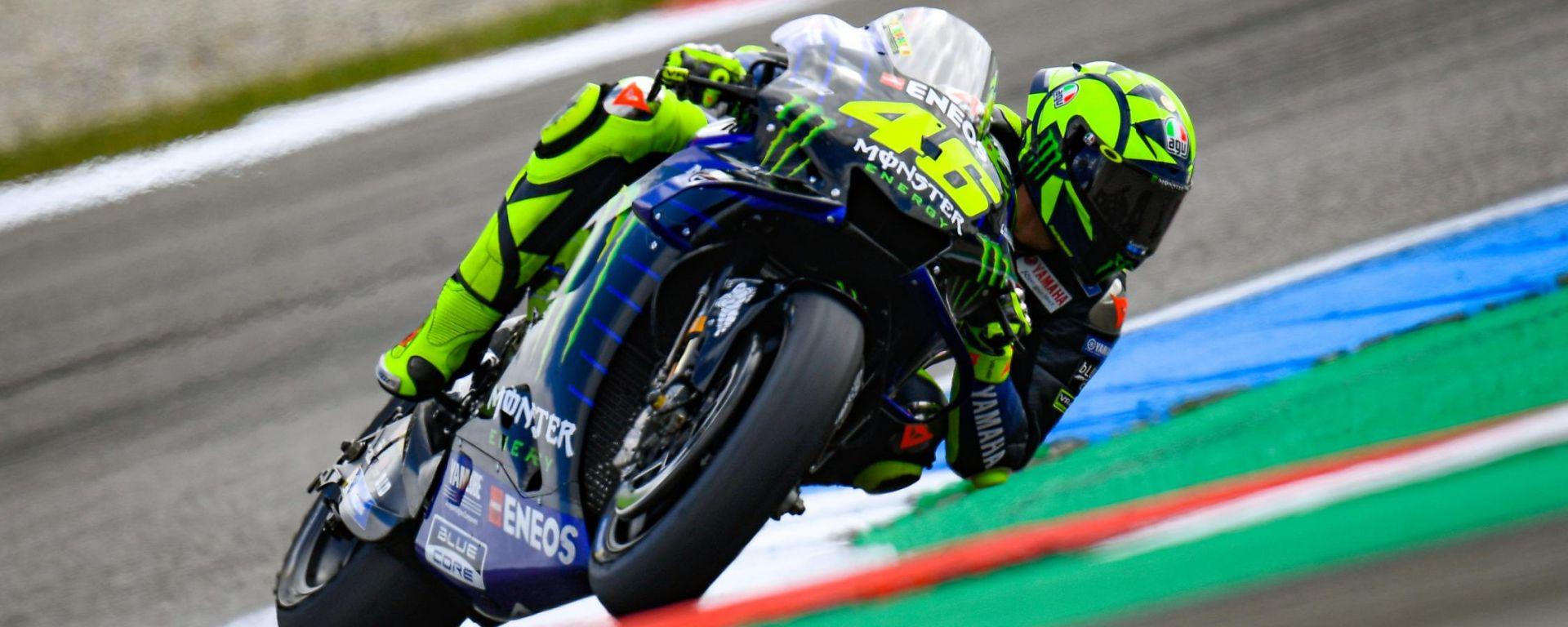 """MotoGP Assen, Rossi solo 14°: """"Faccio fatica e non so il perché"""""""