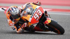 MotoGP Austin 2018: Marquez in pole davanti a Vinales e Iannone, Rossi quinto