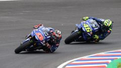 MotoGP Austin 2018, Vinales e Rossi