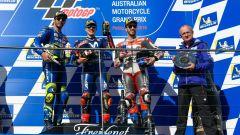 MotoGP Australia 2018, Phillip Island: Andrea Dovizioso (Ducati), Maverick Vinales (Yamaha), Andrea Iannone (Suzuki)