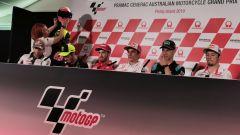 MotoGP Australia 2019, Phillip Island: conferenza stampa giovedì: Zarco, Rossi, Dovizioso, Marquez, Quartararo, Miller, Lecuona