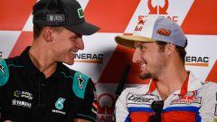 MotoGP Australia 2019, Phillip Island: Fabio Quartararo (Yamaha) e Jack Miller (Ducati)