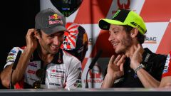 MotoGP Australia 2019, Phillip Island: Johann Zarco (Honda) e Valentino Rossi (Yamaha)