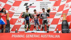 MotoGP Australia 2019, Phillip Island: Marc Marquez (Honda), Cal Crutchlow (Honda), Jack Miller (Ducati)