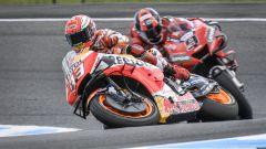 MotoGP Australia 2019, Phillip Island: Marc Marquez (Honda) e Danilo Petrucci (Ducati)