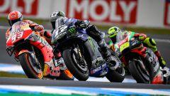 MotoGP Australia 2019, Phillip Island: Marc Marquez (Honda), Maverick Vinales (Yamaha), Andrea Iannone (Aprilia)