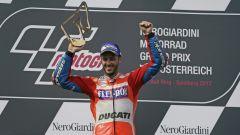 MotoGP Austria 2017, Andrea Dovizioso vince sul Red Bull Ring