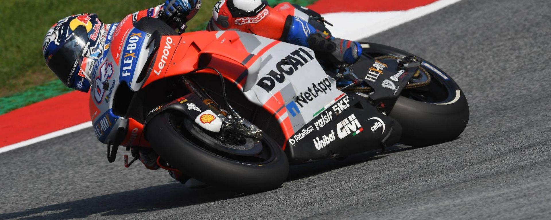 MotoGP Austria 2018: Dovizioso il più veloce delle libere
