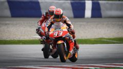 MotoGP Austria 2019, Marc Marquez (Honda) e Andrea Dovizioso (Ducati)