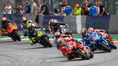 MotoGP Austria 2019, Spielberg: la partenza