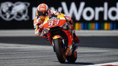 MotoGP Austria 2019, Spielberg: Marc Marquez (Honda) velocissimo sul Red Bull Ring