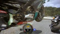 MotoGP Austria 2020: Incidente Zarco-Morbidelli, on board dalla moto di Valentino Rossi