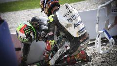 MotoGP Austria 2020, Spielberg: Franco Morbidelli e Johann Zarco a terra dopo l'incidente