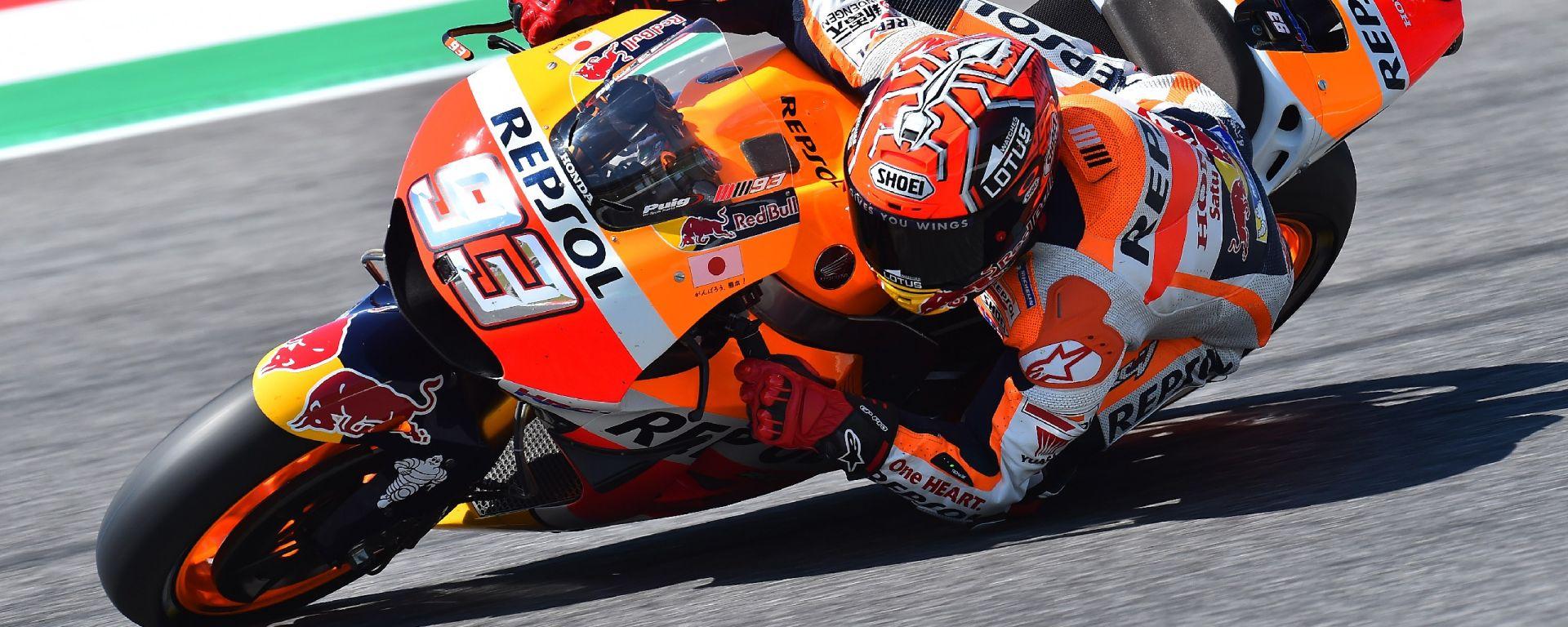 MotoGP Barcellona 2016: Marc Marquez in pole, Lorenzo secondo e Pedrosa terzo