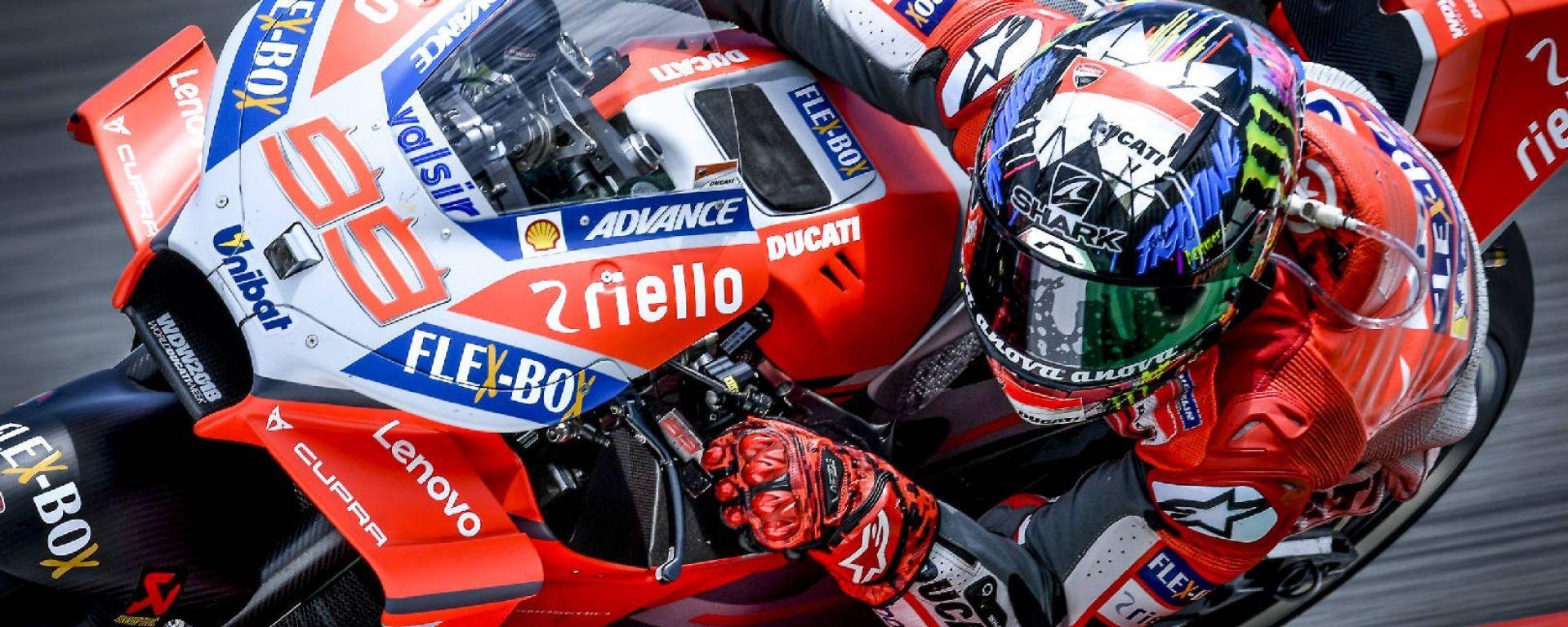 Motogp Barcellona 2018: Lorenzo centra la prima pole con Ducati