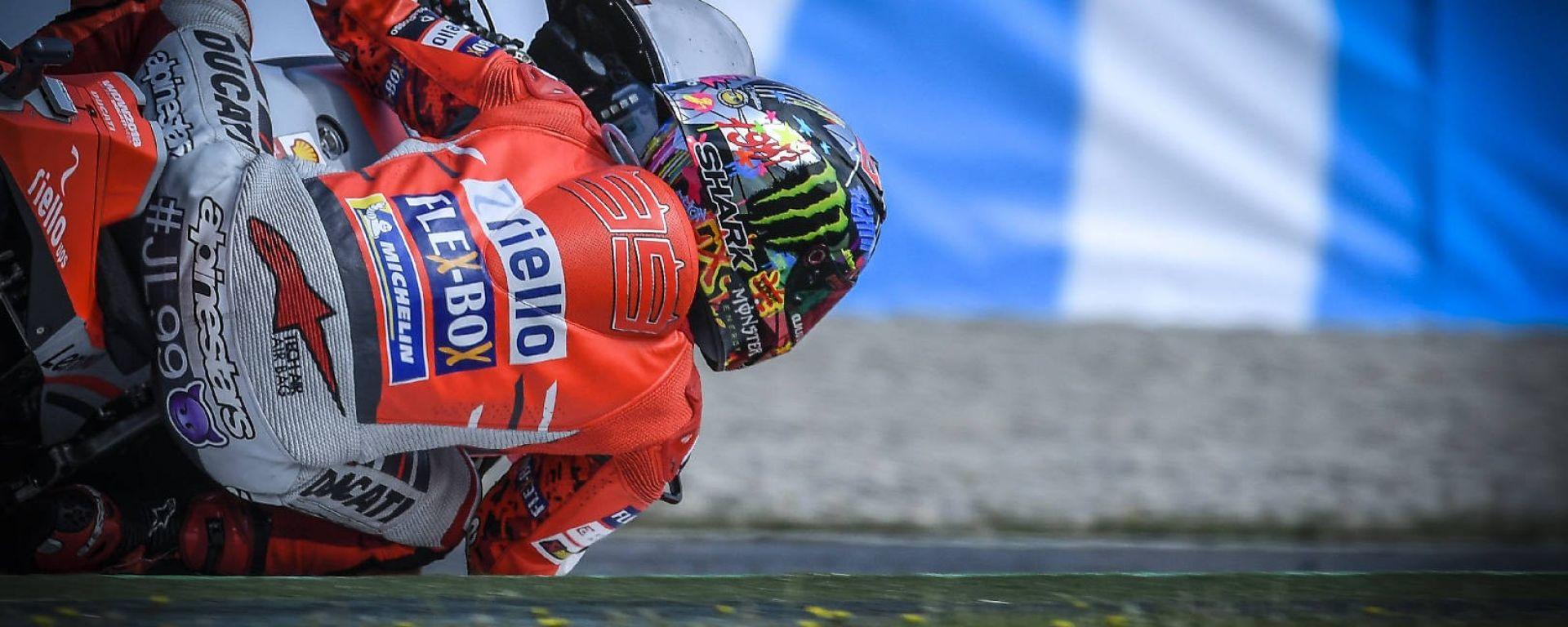 Motogp Barcellona 2018: Lorenzo vince anche in Catalunya