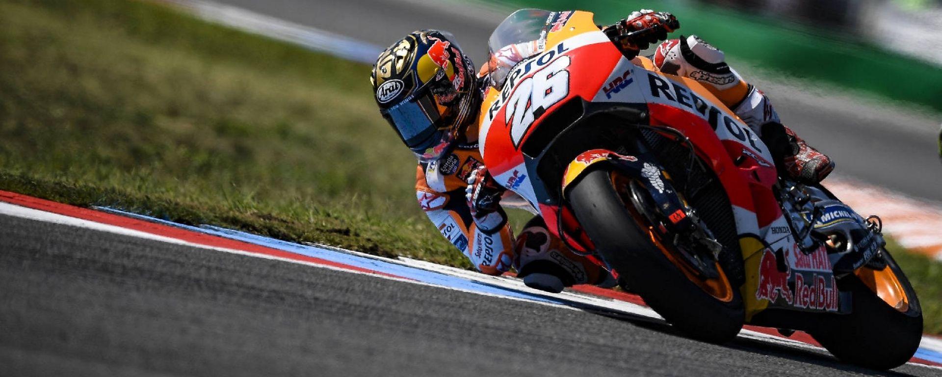 MotoGP Brno 2018: Pedrosa il più veloce del Venerdì