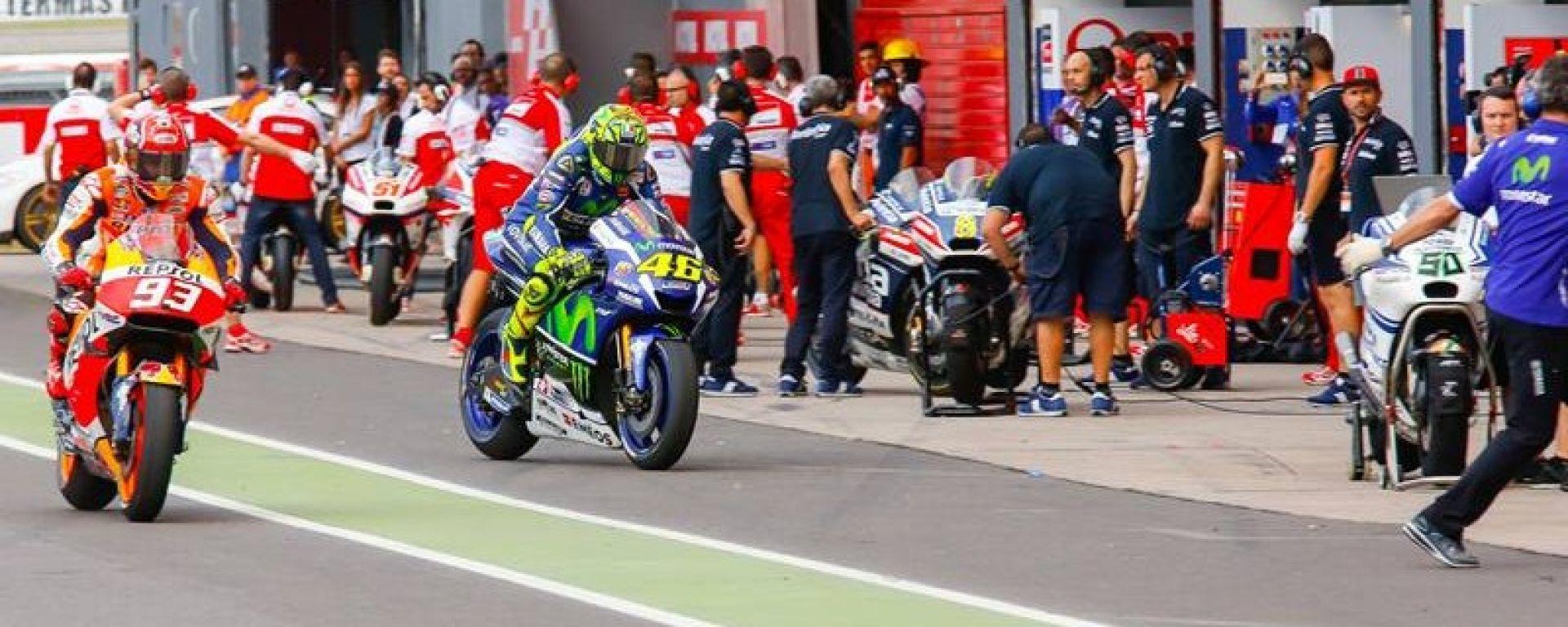 MotoGP, cambiano le regole in caso di gara interrotta