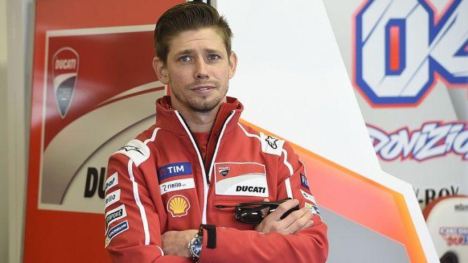 MotoGP, Casey Stoner nel box Ducati