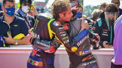 MotoGP Catalunya 2020, Barcellona: Franco Morbidelli (Yamaha) e Valentino Rossi (Yamaha)