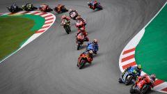 MotoGP Catalunya 2020, Barcellona: il via della gara