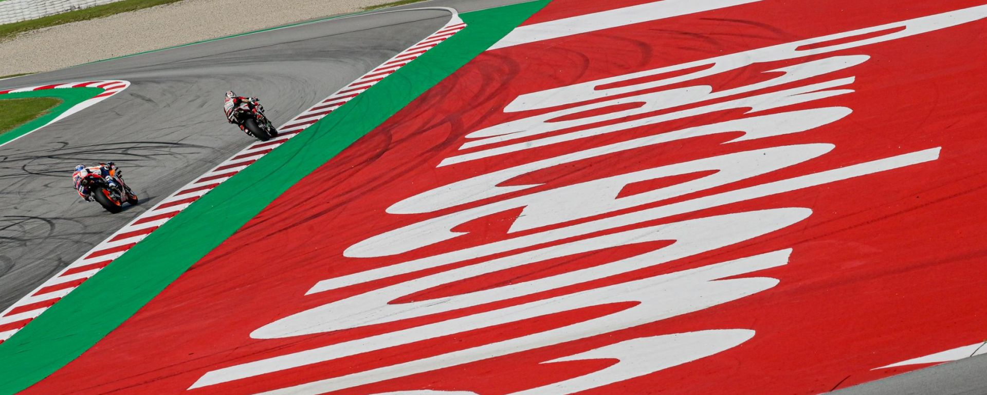 MotoGP Catalunya 2020, Barcellona: Nakagami e Marquez (Honda)