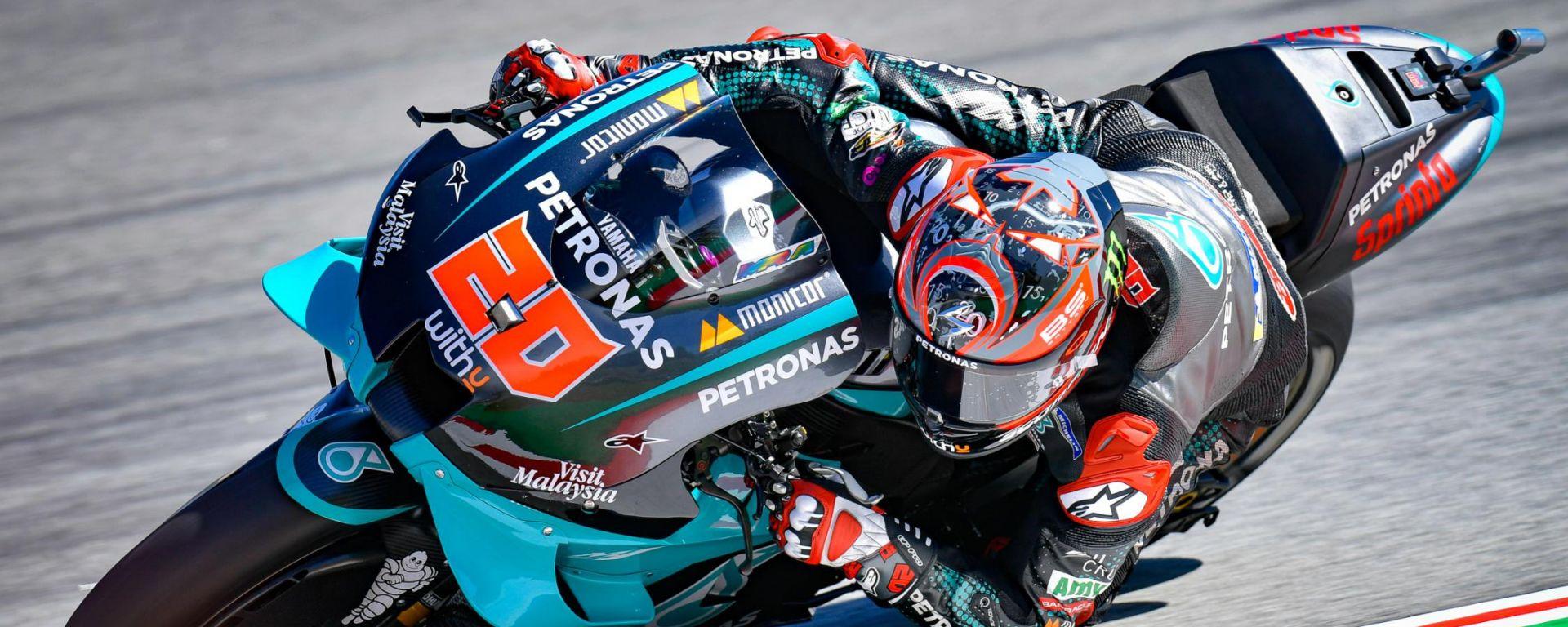 MotoGP Catalunya 2020: Trionfo Quartararo! Rossi la butta via