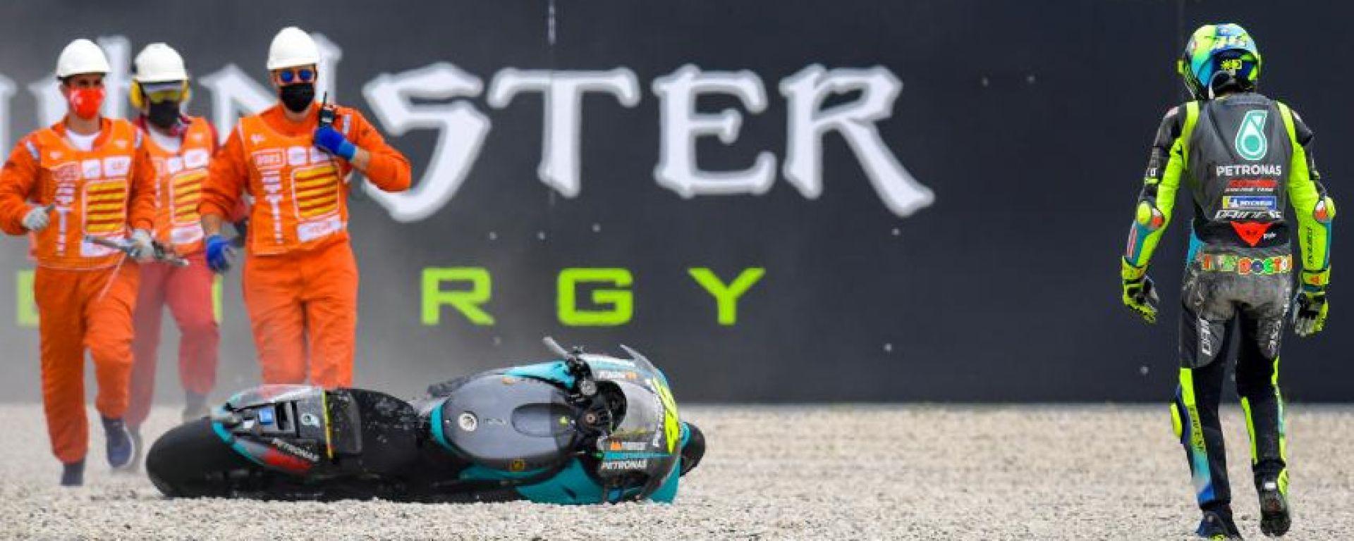 MotoGP Catalunya 2021, Valentino Rossi (Yamaha SRT Petronas)