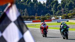 MotoGP Comunità Valenciana 2020, Cheste - Jack Miller (Ducati) e Franco Morbidelli (Yamaha)